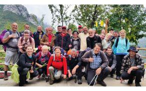 Skupinska slika Veselih triglavcev - Paklenica 2015
