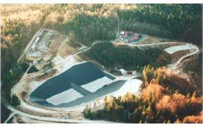 Zračni posnetek deponije CERO Špaja dolina.