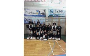 Tekmovalci s trenerji Male šole JU JITSU Ippon Sevnica