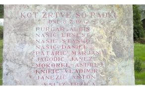 Obnovljeni napisi na spomeniku