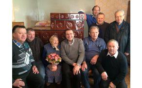 Agata Prelovšek iz Zlatega Polja praznuje 100 let