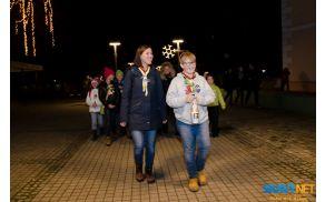 Uradni nosilec Luči miru iz Betlehema za Slovenijo v letu 2014 je luč prinesel tudi v naš kraj.