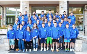 Slovenska otroška reprezentanca (Nia četrta z leve)