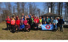 Naša skupina na enem izmed vrhov
