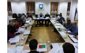 12. redna seja Občinskega sveta Občine Kobarid. Foto: Nataša Hvala Ivančič