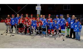 Hokejske legende na tržiškem ledu