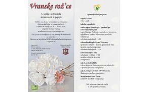 VRANSKE ROŽ'CE - 5. velika vseslovenska razstava rož iz papirja