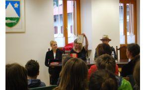 Obisk pisateljice Carolin  Philipps. Foto: Mineja Lazar