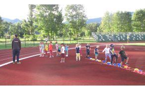 Najmlajši se spoznavajo z osnovnimi prvinami atletike