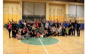 Košarkarski pozdrav letošnjih udeležencev do naslednjega leta