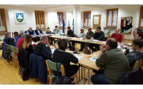 Zaključena 13. redna seja Občinskega sveta Občine Kobarid. Foto: Nataša Hvala Ivančič