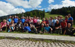 Planinci PD Slovenj Gradec na Sv. Višarjih in Kamnitem lovcu