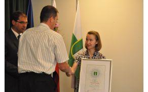 Kristina Gregočič, Slovenska najdijakinja 2011