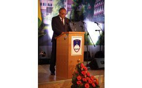 Slavnostni govornik župan Ivan Benčina