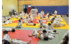 V Vojniku je potekalo prvo tekmovanje v judu, in sicer za otroke, stare od šest do trinajst let.