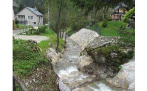 Gebnov potok v Podljubelju