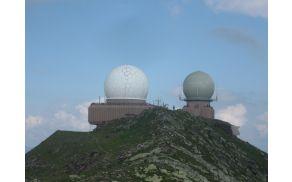 Vojaški radarji na vrhu