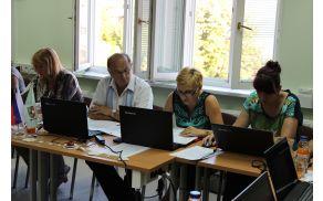 O realizaciji polletnega proračuna je spregovorila Irena Špegel Jovan.