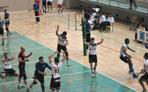 Veselje ob zamgi nad ekipo Go Volley. Foto: Borut Jurca