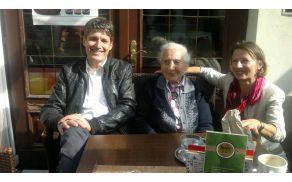 S stoletnico Metko na kavi