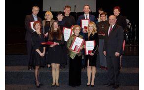 Nagrajenci ob slovenskem kulturnem prazniku