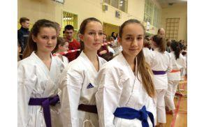 Ekipne državne prvakinje (Tereza Kožar, Tia in Tisa Šantej)