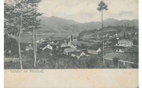 Razglednica Poljčan - 1900