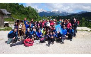 Planinci PD  Slovenj Gradec na Veliki planini