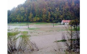 Poplava na območju Vojnika lansko leto