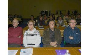 Ivan Štumberger in Stanislava Tamše iz DI SG na usposabljanju invalidov ZDIS