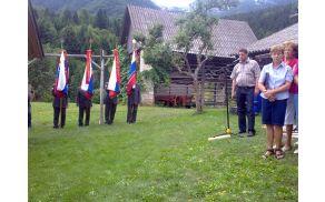 Slavnostni govornik župan Občine Bohinj  Franc Kramar.