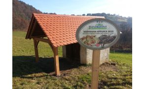 Obnovljena Medvedova sušilnica sadja na Libergi