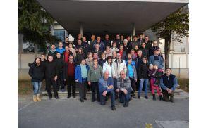 Skupinska slika pred CPV Nova Gorica