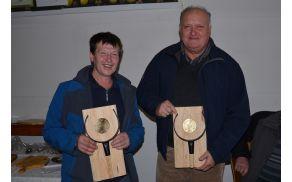 Prejemnika nagrade za najboljšo klobaso in kruh leta 2013