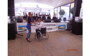 Nastop Društva paraplegikov Prekmurja in Prlekije