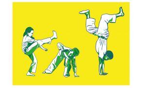 Capoeira otroci, Design: M7 Grafiks