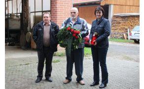 Delegacija za položitev venca