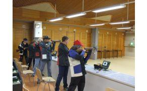Sušec Mihaela, članica DI Slovenj Gradec, na DP v streljanju z zračnim orožjem