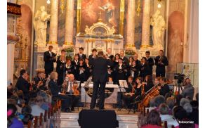 Med koncertom (foto: Tomaž Mali)