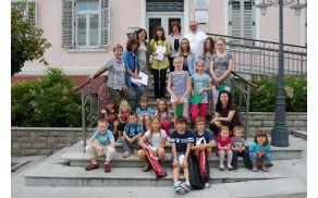 Nagrajenci nagradnega natečja.  Foto: arhiv NIJZ OE Nova Gorica