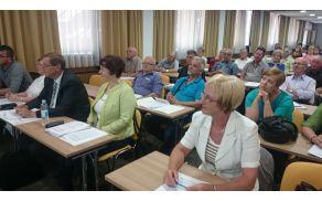 Stanislava Tamše iz DI SG na usposabljanju za aktivno sodelovanje in neodvisno življenje invalidov