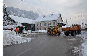 Stroški zimske službe bodo letos pošteno zagrizli v občinski proračun.