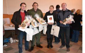 Dobitniki priznanj za najboljšo klasično oziroma divjačinsko salamo