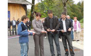Otvoritev ceste Sp. Slemene - Hrastnik