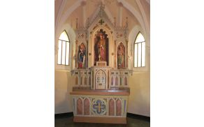 Oltar v sv. Magdaleni