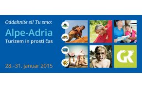 Sejem Alpe-Adria bo letos v znamenju aktivnega turizma.