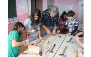 Izdelava lesenih grabelj