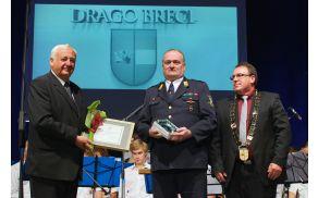 Lastnik srebrnega grba Občine Vojnik, Drago Brecl