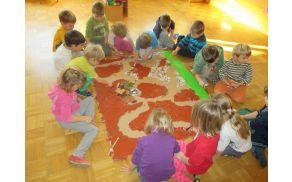 Otroci so neizmerno uživali.