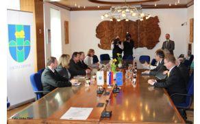 Srečanje predsednika s predstavniki Občine Trebnje